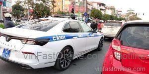 VinFast Lux A dành cho lực lượng CSGT cũng xuất hiện trong loạt ảnh này