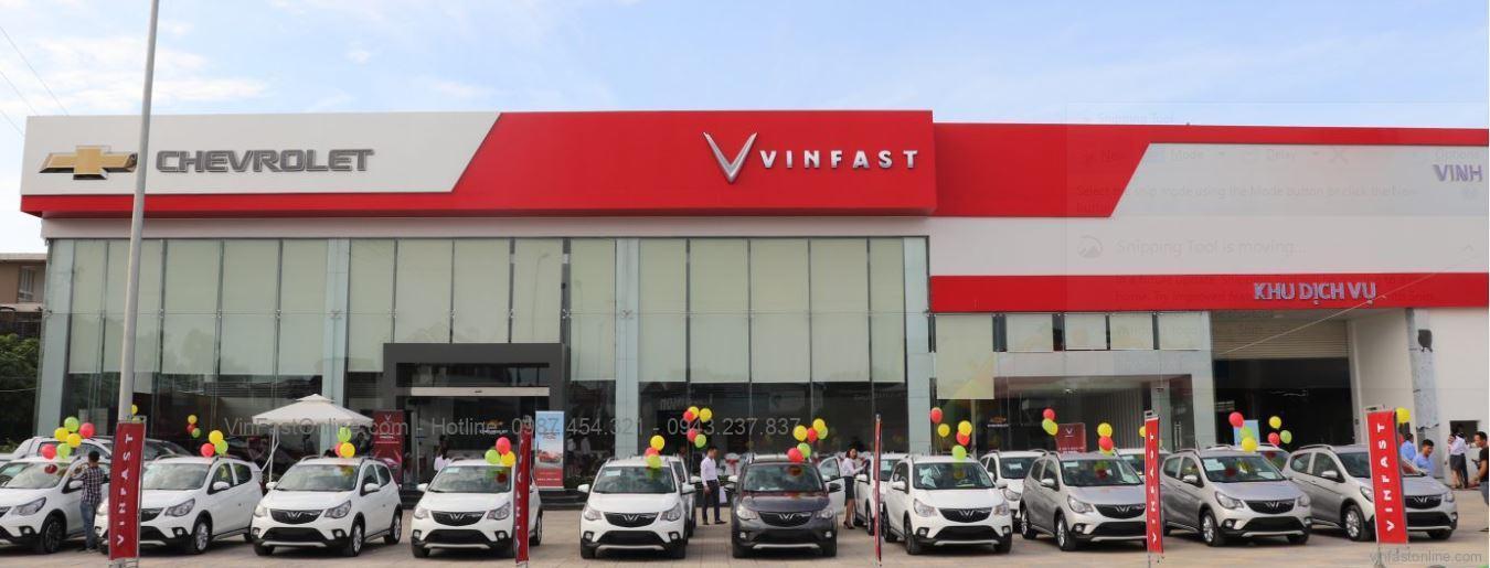 Chevrolet - VinFast Vinh : Đường 72m, ngã 3 Quán Bàu, Hà Huy Tập, tp Vinh, Nghệ An