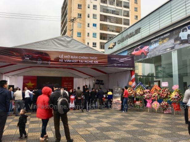 Toàn cảnh lễ mở bán chính thức xe VinFast tại Nghệ An