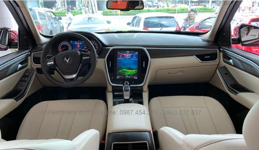 Khoang láiXe VinFast Lux SA2.0