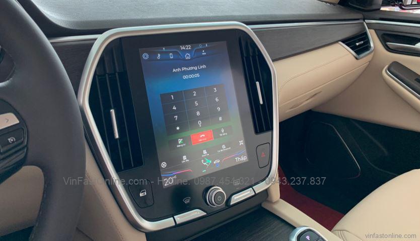 Tiện nghi xe VinFast Lux SA2.0