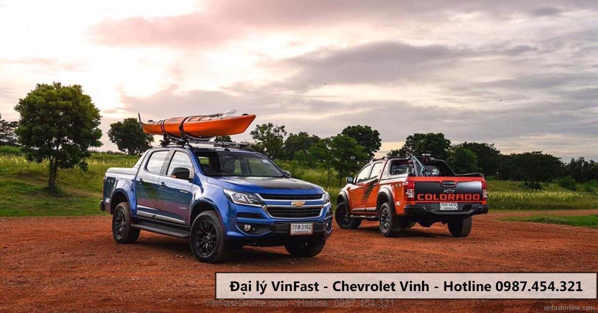 """mẫu bán tải xe Chevrolet Colorado giảm giá """"sập sàn"""""""