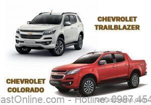 Xe Chevrolet Colorado giảm giá