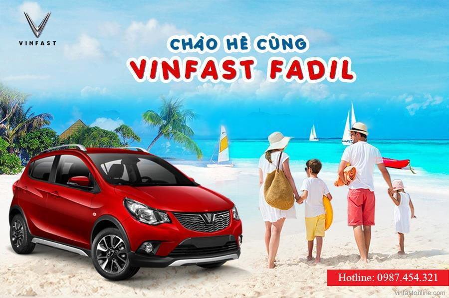 """Giá Xe VinFast Fadil """"KHUYẾN MÃI CHÀO HÈ"""" tại Đại lý VinFast Vinh, Nghệ An"""