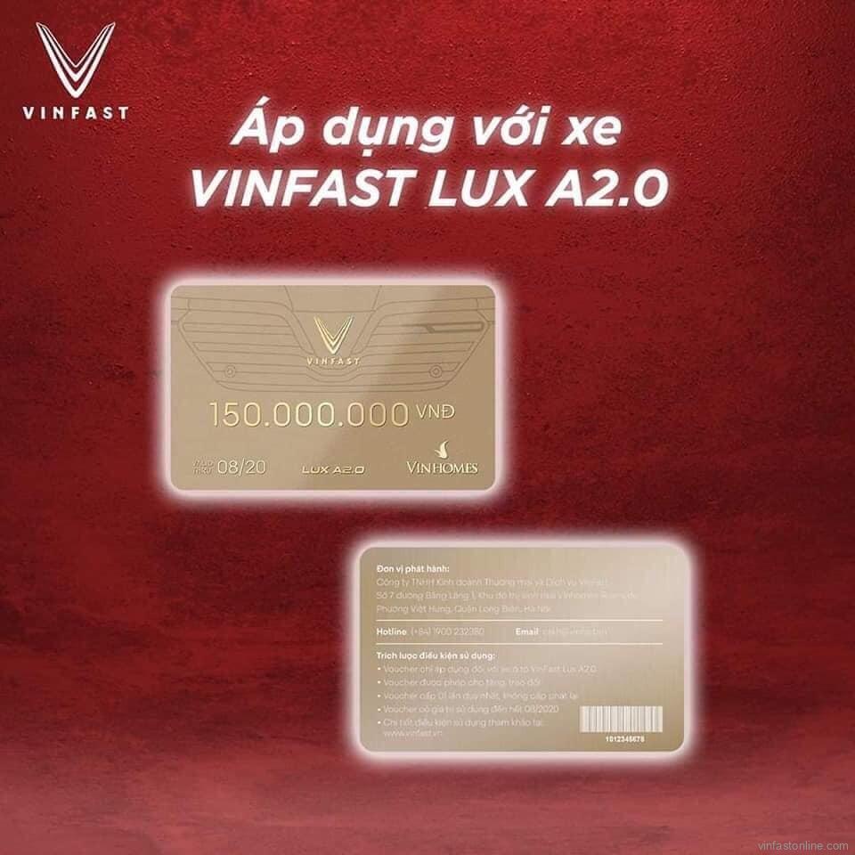 voucher VinFast lux a