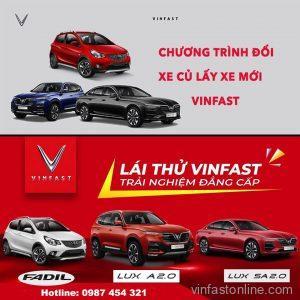 Sự kiện lái thử và đổi xe cũ lấy xe mới của VinFast được tổ chức tại tp Vinh, Nghệ An