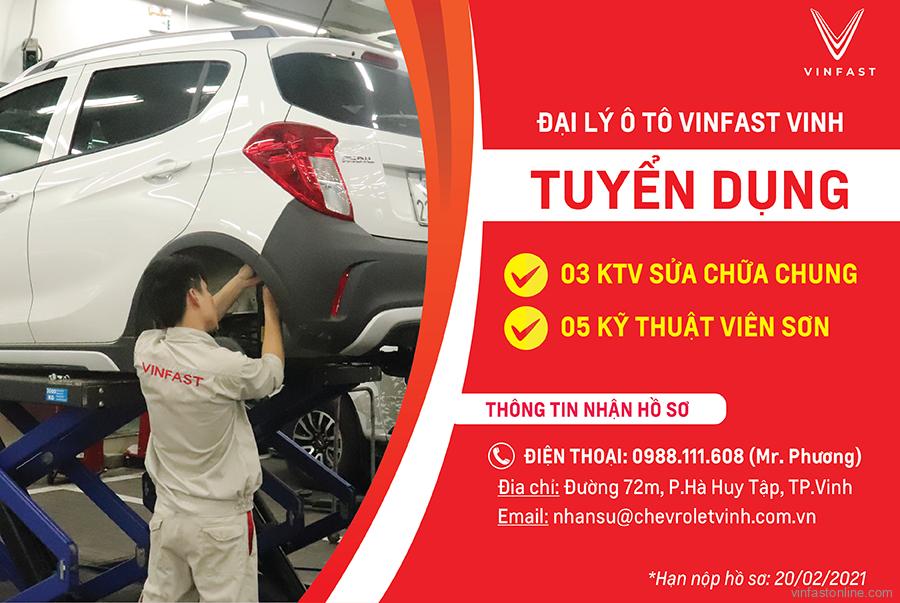 Vinfast Vinh Tuyen Dung Ky Thuat Vien Thang 1