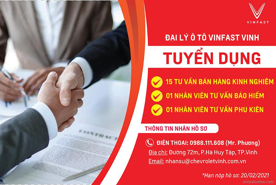Vinfast Vinh Tuyen Dung Thang 1