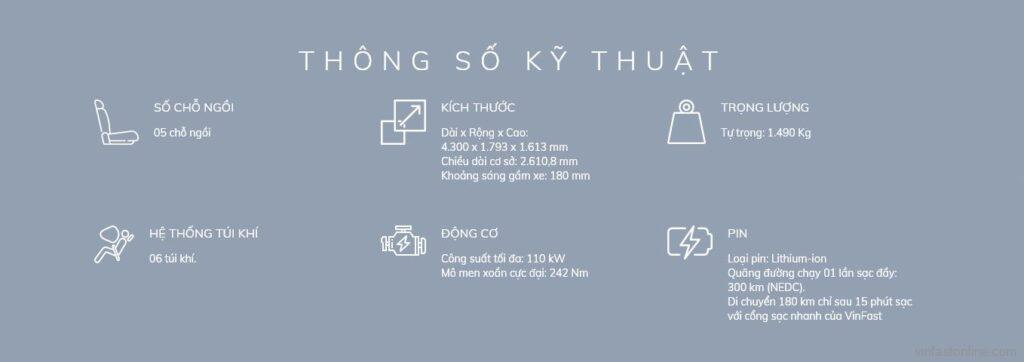 Thong So Ky Thuat Vf E34